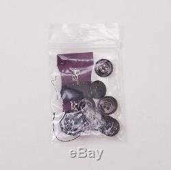 NWT $3695 SARTORIA PARTENOPEA Slim-Fit Charcoal Gray Stripe Wool Suit 44 R Eu54