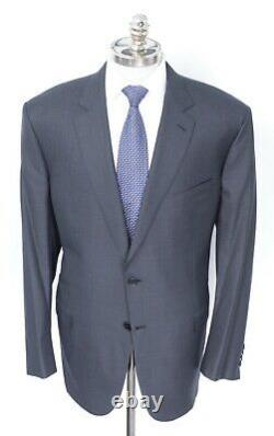 NWT BRIONI Colosseo Charcoal Super 160's Wool 2 Btn Slim Fit Suit 50 R (EU 60)