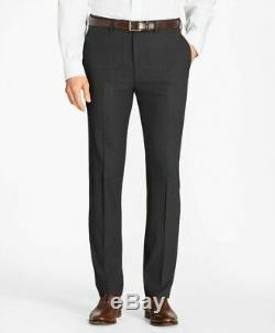 NWT Brooks Brothers Regent Fit Brookscool Wool Suit Black Size 42R 44R 46R