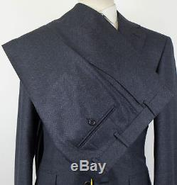 NWT CANALI 1934 Charcoal Gray Birdseye Wool 2 Button Slim Fit Suit 48/38 R $1895