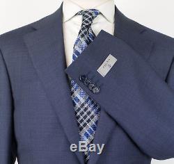 NWT CANALI 1934 Glaucous Blue Wool 2 Button Slim Fit Suit Size 54/44 R $1895
