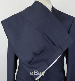 NWT CANALI 1934 Glaucous Blue Wool 2 Button Slim Fit Suit Size 54/44 R $1895