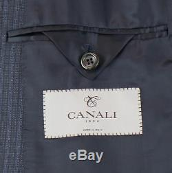 NWT CANALI 1934 Gray Striped Wool 2 Button Slim Fit Suit Size 52/42 R $1995