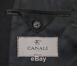 NWT CANALI 1934 Gray Wool 2 Button Slim/Trim Fit Suit Size 54/44 R Drop 7 $1795