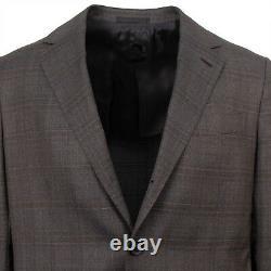 NWT CARUSO Cotton Blend 3 Roll 2 Button Slim Fit Suit 44/34 S Drop 8