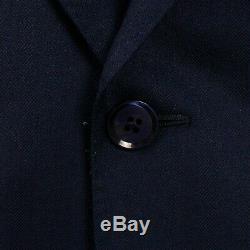NWT CARUSO Navy Blue Cashmere Blend Two Button Slim Fit Suit 50/40 R Drop 8