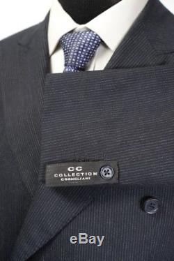 NWT CORNELIANI CC COLLECTION Unconstructed Double Breasted Slim Fit Suit 50 40 R