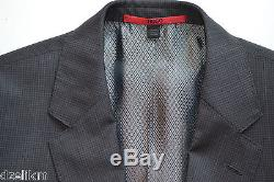 NWT Hugo Boss Black Label By Hugo Boss Micro Pattern Extra Slim Fit Suit Sz 38S