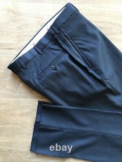 NWT Isaia Slim-Fit'Gregorio' Navy Blue Suit 38R (Eu 48R) Drop 7