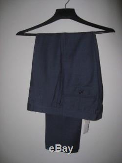 NWT JCrew LUDLOW Slim Fit Suit In Harbor Blue Wool Size 38S 31/30