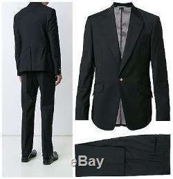 Nwt Vivienne Westwood Man Black Slim Fit James One Button Suit. Uk 40r, Eur 50r