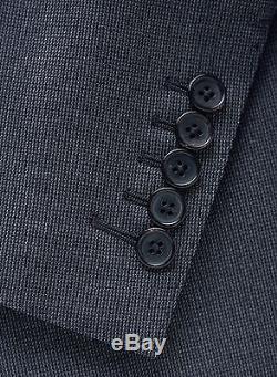 New 2017 TOM FORD Dark Gray 3 Piece Slim-Fit Suit Wool 38 R US/48 IT 38R $5450
