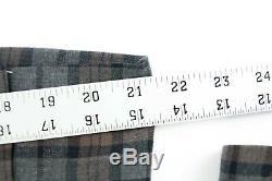 New Men's 36s J Crew Ludlow Slim Fit Suit Jacket Blazer In Plaid Stretch Flannel