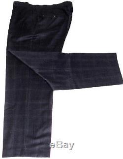 New Mens Paul Costelloe London Tartan Check Slim Fit 3 Piece Suit 46r W40 X L33