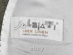 New Suit Supply Havana Patch Men Slim Fit Jacket Blazer Size 24 EU48 UK38