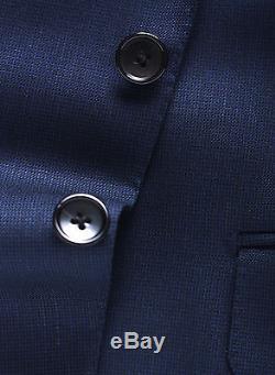 New TOM FORD Blue Slim-Fit Suit 2016/17 Buckley Wool 38 R US/48 IT 38R $5450