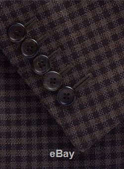 New TOM FORD Slim-Fit Suit 2-Button Wool Silk 38 R US /48 IT 38R $4740