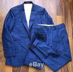 Nwt Suitsupply BARBERA Suit Siena Mens Wool Silk Mohair Linen Slim-Fit Size50