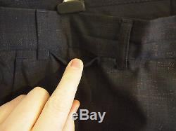 Our Legacy Navy Rainbow Acne Two Button Classic Slim Fit Suit