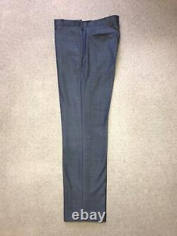 PAUL SMITH Kensington Fit -Slim Fit BLUE WOOL SUIT 42 Reg -W34 L30 -WORN TWICE
