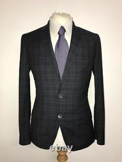 PAUL SMITH Kensington Fit Slim Fit GREY WOOL SUIT 38 Reg -W32 L29 GORGEOUS