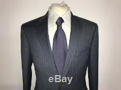 PAUL SMITH Mens Slim Fit BLUE WOOL SUIT 38 Reg W32 L32 BEAUTIFUL SUIT