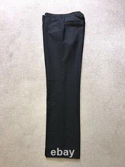 PAUL SMITH -Mens Slim Fit Plain DARK GREY WOOL SUIT 40 Reg W34 L32 -GORGEOUS