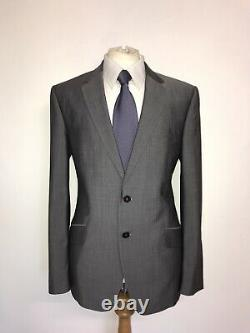 PAUL SMITH -Mens Tailored Fit GREY WOOL & MOHAIR SUIT 42 Reg -W36 L31 -LOVELY