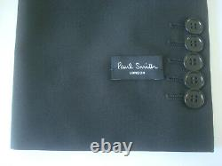 PAUL SMITH Travel Suit 48 / 58 Wool & Mohair Slim Fit RRP £575 BNWT