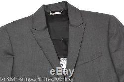 PHILIPP PLEIN DK Grey Slim Fit 100 SUPER WOOL Suit BNWT IT50 UK40 Made In Italy