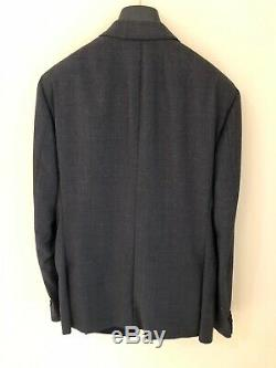 Pal Zileri Grey Wool Slim Fit Suit Size 42/34