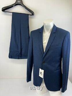 Paul Smith Gents Tailored Fit 2 Piece Suit Jacket Trousers Smart Wool 38 R