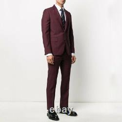 Paul Smith Kensington Slim-Fit Wool Mohair 2-Button A Suit To Travel In UK/US44R