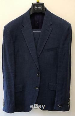 Paul Smith Linen Suit LONDON BYARD Slim Fit UK40R 40 Chest 36 Waist RRP £710