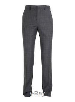 Paul Smith London KENSINGTON Slim Fit LUXURY Suit Stripe Purple Lining RRP £680
