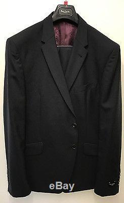 Paul Smith NAVY BLUE Suit LONDON REGENT Slim Fit UK46R Chest 46 Waist 39