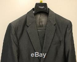 Paul Smith PS Suit Slim Fit 21% Silk 79% Cotton UK40 EU50 Chest 40 Waist 32