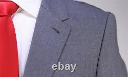 Paul Smith Recent Solid Gray Slim Fit 2-Btn Wool Suit 38S