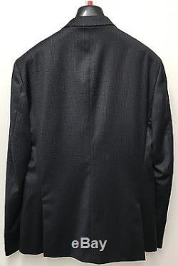 Paul Smith Suit BLACK & CHARCOAL GREY CHECK KENSINGTON Slim Fit UK42R RRP £790