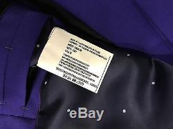 Paul Smith Suit STUNNING BLUE WOOL & MOHAIR KENSINGTON Slim Fit UK42R EU54R