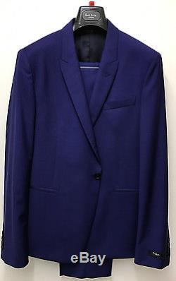 Paul Smith TONIC BLUE SUIT WOOL & MOHAIR KENSINGTON Slim Fit UK42R