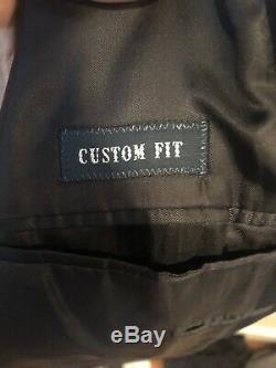Polo Ralph Lauren PRL Corneliani Italy Navy 38R Custom fit suit 30 pants