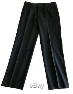 Prada Navy Blue Pinstripe Modern Luxe Slim Fit Suit Size US 38 EU 46
