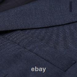 Prada Slim-Fit Slate Blue Crisp Wool and Mohair Suit 40R (Eu 50) NWT