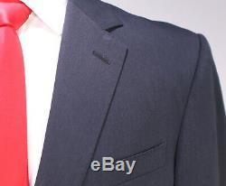 RALPH LAUREN Black Label Solid Charcoal Gray Modern Fit Wool 2-Btn Suit 40R