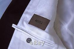 REISS men's wool slim fit suit Black 38 reg IMMACULATE