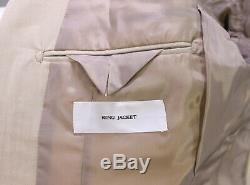 RING JACKET Japan Khaki Tan Herringbone Cotton 2-Btn Slim Fit Suit 36S