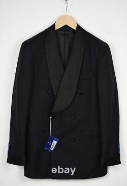 RRP $599 SUITSUPPLY JORT DOUBLE BREASTED Men UK38R 100% Wool Tuxedo Suit 16257