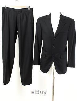 Raffaele Caruso Anzug Gr 48 /S 100% Wolle Slim Fit Sakko Hose Business Suit