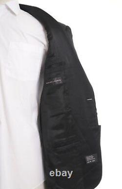 Ralph Lauren Black Label Italy Slim Fit Anthony Wool Tuxedo Suit 42L 35W Drop 7